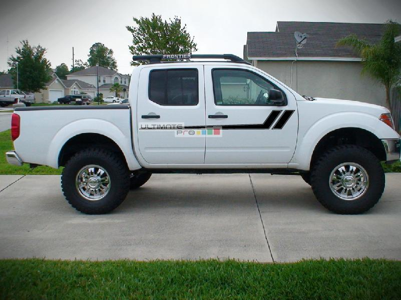 Nissan Frontier Stripes >> Decal Graphic Vinyl Side Racing Stripes Compatible With Nissan
