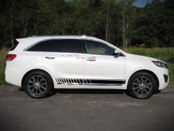 Decal Sticker Graphic Side Sport Stripe Kit Kia Sorento 2014-2017