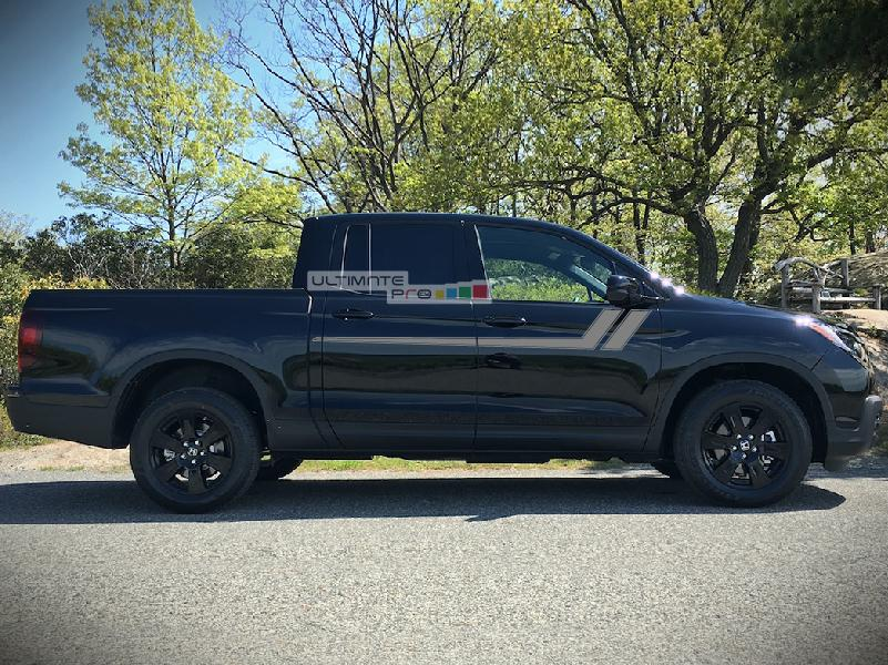 Decal Sticker Graphic Sport Door Stripe Kit Compatible with Honda Ridgeline G2 - ultimateprocy