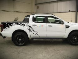 Decal Sticker Vinyl Bed Splash Mud Kit Ford Ranger T6 2011-2017