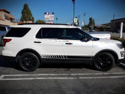 Decal Sticker Vinyl Lower Side Stripes Ford Explorer 2011-2017