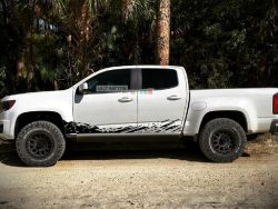 Decal Sticker Vinyl Mud Splash Kit Chevrolet Colorado 2012-2017