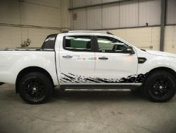Decal Sticker Vinyl Mud Splash Kit Ford Ranger T6 2011-2017