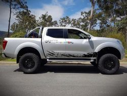 Decal Sticker Vinyl Mud Splash Kit Nissan Navara NP300 2014-2017