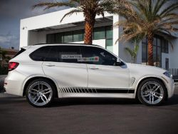 Decal Sticker Vinyl Side Sport Stripe Kit BMW X5 2013-2017