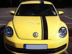 Full Stripe Kit Decal Sticker Graphic Volkswagen BEETLE A5 Coupe Convertible