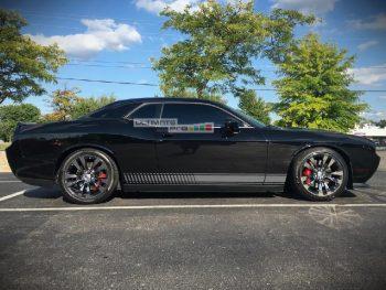 Decal Sticker Vinyl Side Racing Stripes Dodge challenger RT SRT8 SXT 2008-2015