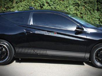 Decal Sticker Vinyl Side Racing Stripes Honda CR-Z 1.5 L i-VTEC High Performance