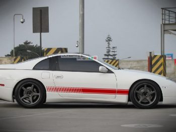 2x Decal Sticker Vinyl Side Racing Stripes Nissan 300ZX Z32