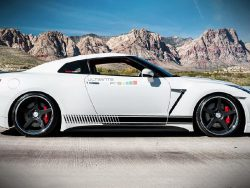 Decal Sticker Vinyl Side Racing Stripes Nissan GT-R R35 2007-2016
