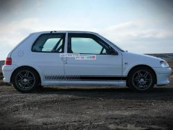 Decal Sticker Vinyl Side Racing Stripes Peugeot 106 Rallye XN,XL,XR,XT,XS and GTi