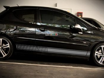 Decal Sticker Vinyl Side Racing Stripes Peugeot