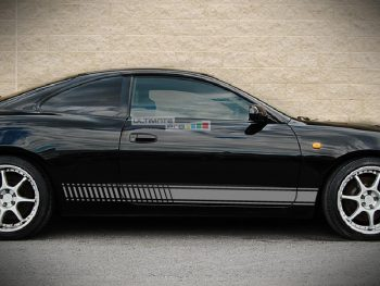 Decal Sticker Vinyl Side Racing Stripes Toyota Celica GT4 GT-Four ST185 and ST205