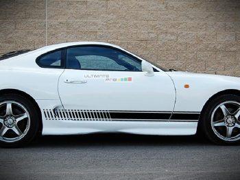 Decal Sticker Vinyl Side Racing Stripes Toyota Supra A80 1993-2002
