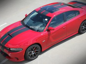 Decal Graphic Sticker Stripe Body Kit Dodge Charger