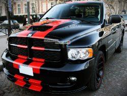 Decal Sticker Graphic Front to Back Stripe Kit Dodge Ram SRT 1500 2500 3500