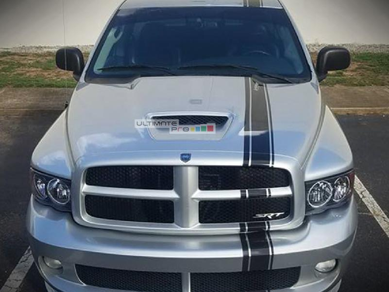 Decal Sticker Graphic Front To Back Stripe Kit Compatible