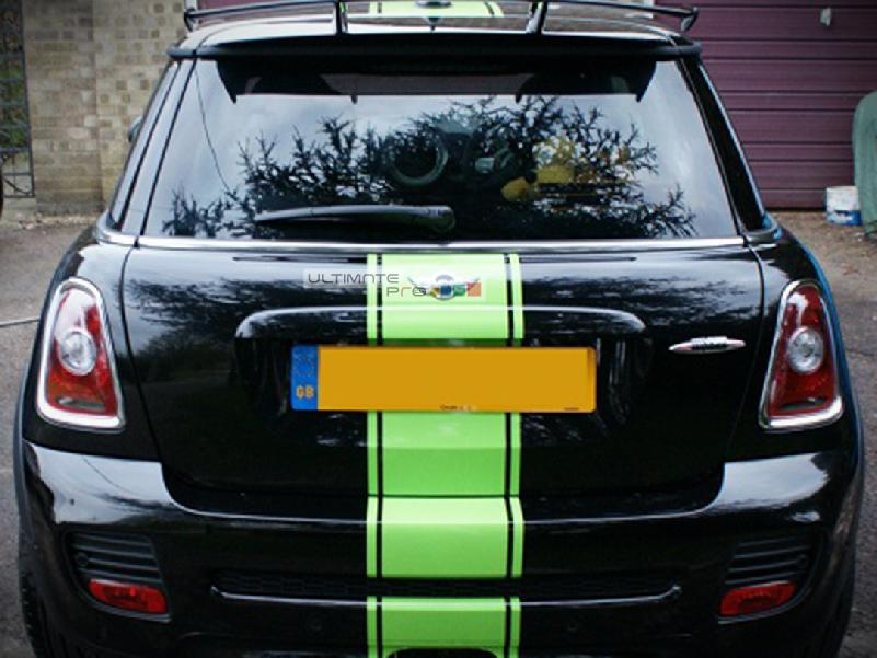 Decal Sticker Graphic Front To Back Stripe Kit Compatible With Mini Cooper Hatch R56 R50 R53 F55