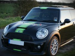 Decal Sticker Graphic Front to Back Stripe Kit Mini Cooper Hatch R56 R50 R53 F55 F56