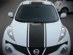 Decal Sticker Graphic Front to Back Stripe Kit Nissan Juke