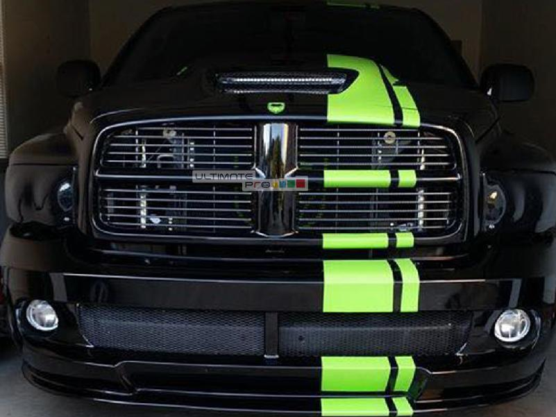 Decal Sticker Vinyl Body Racing Stripe Full Kit Compatible