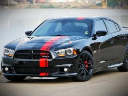 Decal Sticker Vinyl Body Racing Stripe Kit Dodge Charger SRT 8 SXT RT