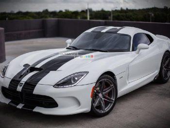 Decal Sticker Vinyl Body Racing Stripe Kit Dodge Viper GTS SRT GTC 2013-2017