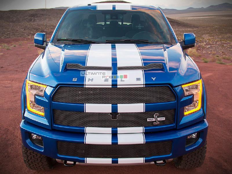 Decal Sticker Vinyl Body Racing Stripe Kit Compatible With