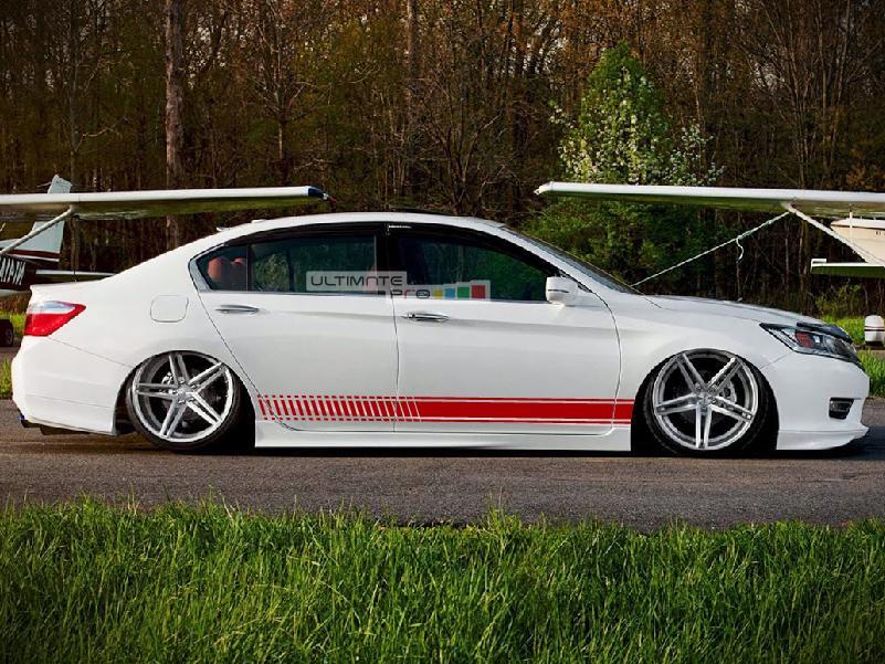 Decal Sticker Vinyl Side Racing Stripe Kit Honda Accord 2017