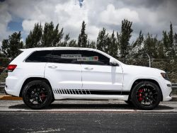Decal Sticker Vinyl Side Racing Stripe Kit Jeep Grand Cherokee WK2 SRT base 2011-2017