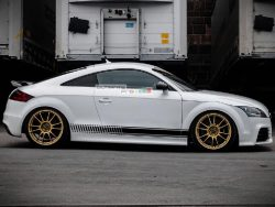 Decal Sticker Vinyl Side Racing Stripes Audi TT RS TTS 2006-2014