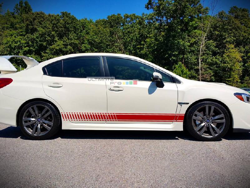 Decal Sticker Vinyl Side Racing Stripes Compatible With