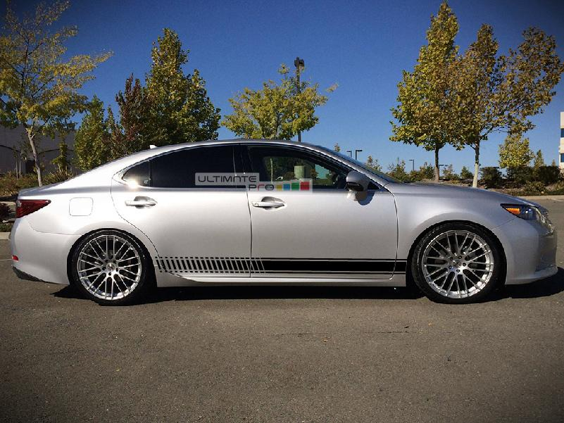 2014 Silver Camry >> Decal Sticker Vinyl Side Racing Stripes Compatible with Toyota Camry - ultimateprocy