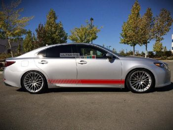Decal Sticker Vinyl Side Racing Stripes Toyota Camry
