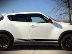 Decal Sticker Vinyl Side Sport Stripes Nissan Juke 2010-2017