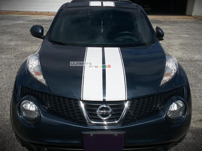 Front To Back Stripe Kit Decal Sticker Graphic Compatible With