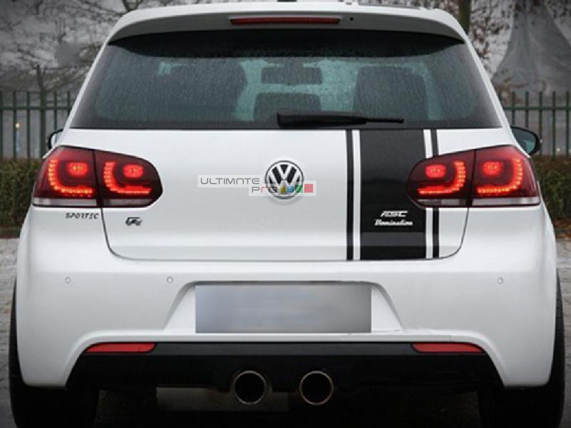 Full Stripe Kit Sticker Decal Graphic Compatible With Vw
