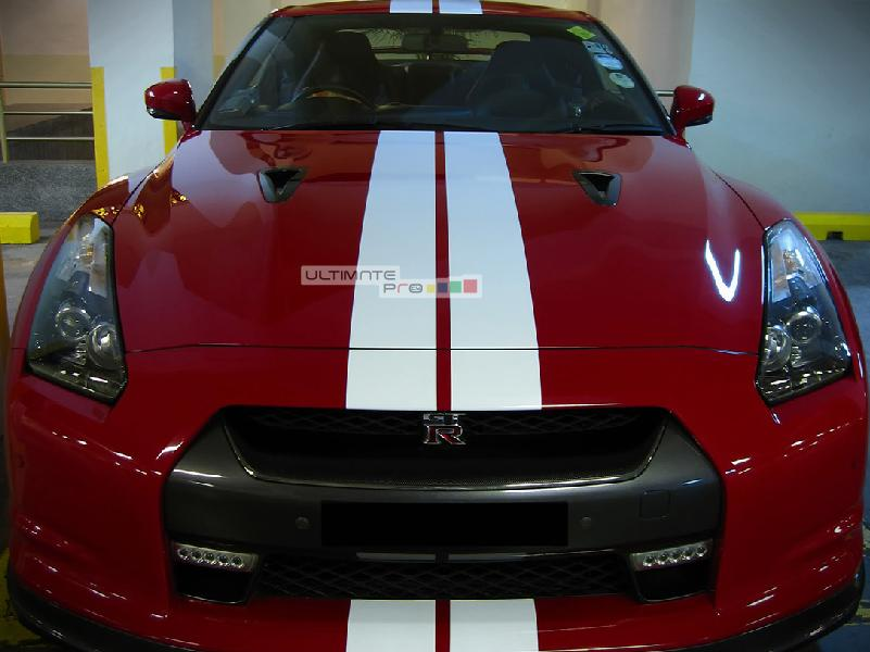 Set Of Racing Full Stripes Decal Sticker Graphic