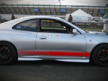 Set of Racing Side Stripes Decal Sticker Graphic Toyota Celica GT4 GT-Four ST205 WRC Rally