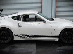 Set of Sport Side Stripes Decal Sticker Vinyl Nissan 370 Z Fairlady NISMO