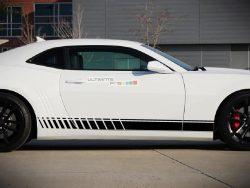 Side Sport Stripe Kit Sticker Decal Graphic Chevrolet Camaro SS 2010-2015