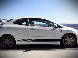 Universal Side Stripes Stickers Decals Graphic Honda Civic Type R GT FN2FD2 2006-2011