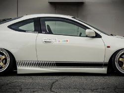 Universal Side Stripes Stickers Decals Graphic Honda Integra Type R Acura 2002-2006