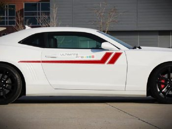 Upper Side Stripes Stickers Decals CHEVROLET CAMARO COUPE CONVERTIBLE