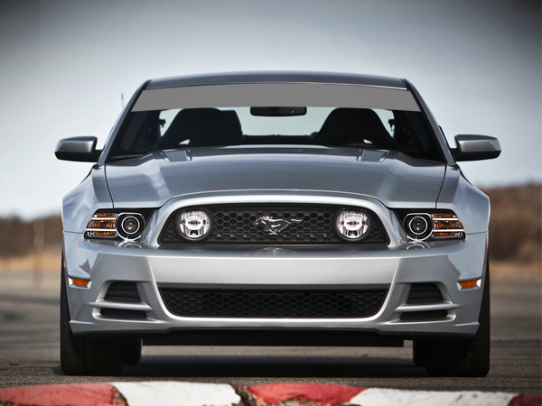 Decal Vinyl Windshield Banner Sun Visor Strip Ford Mustang