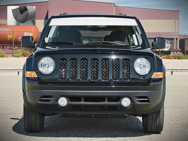 decal vinyl windshield banner stripe compatible with jeep patriot 2007 2017 4x4 offroad banner window sunproof 2017 Jeep Cherokee Trailhawk