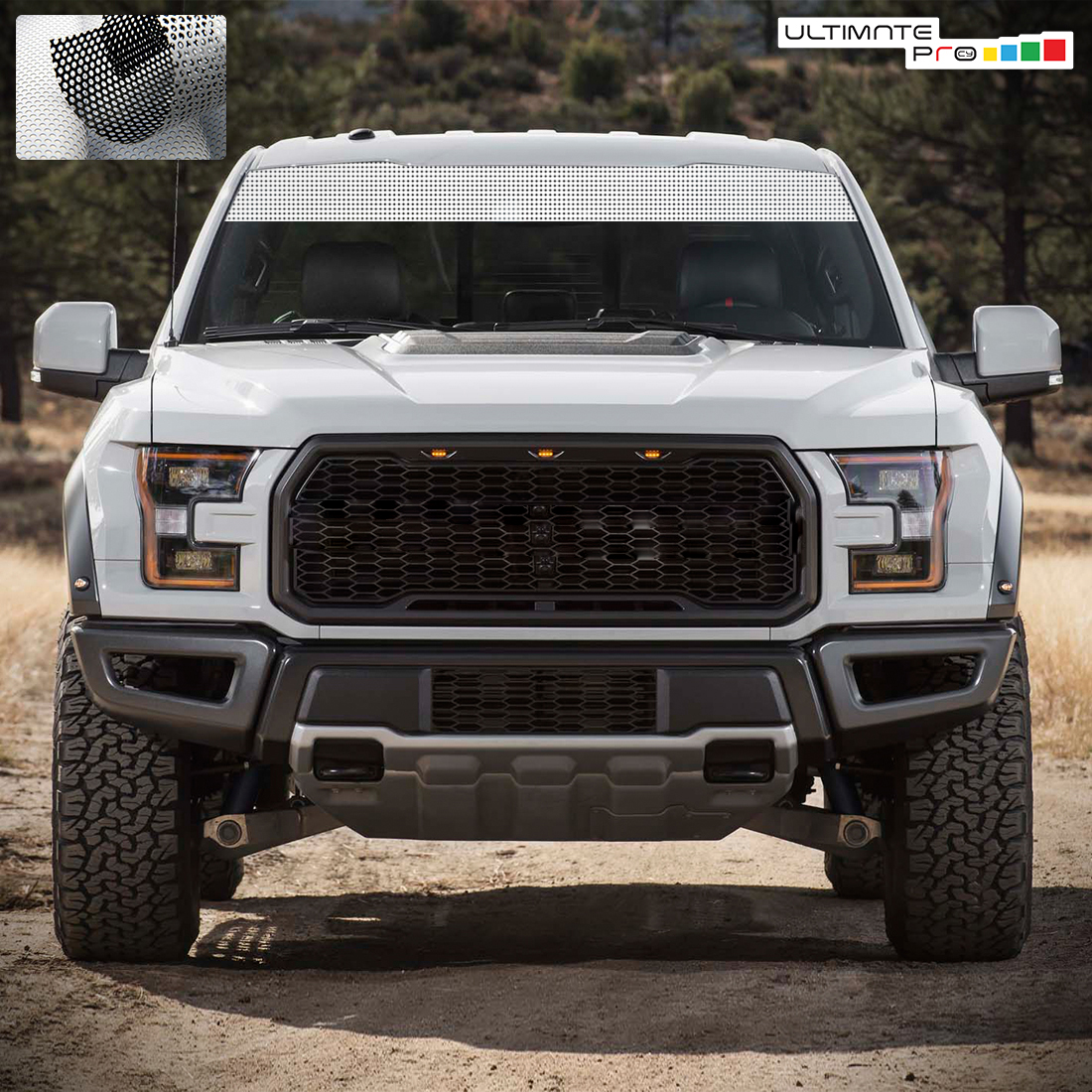 Windshield Banner Sun Visor Strip Decal Graphic Ford F150