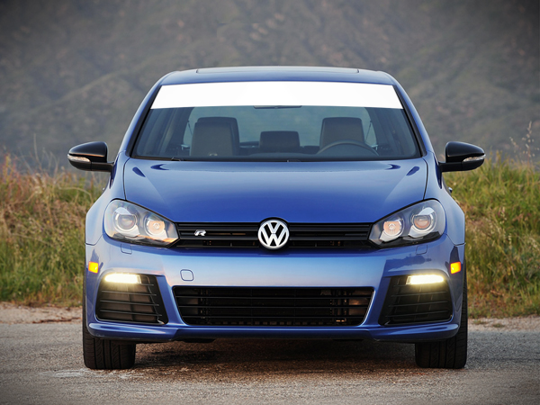 Windshield Banner Sun Visor Strip Decal Volkswagen Golf 2008-2017