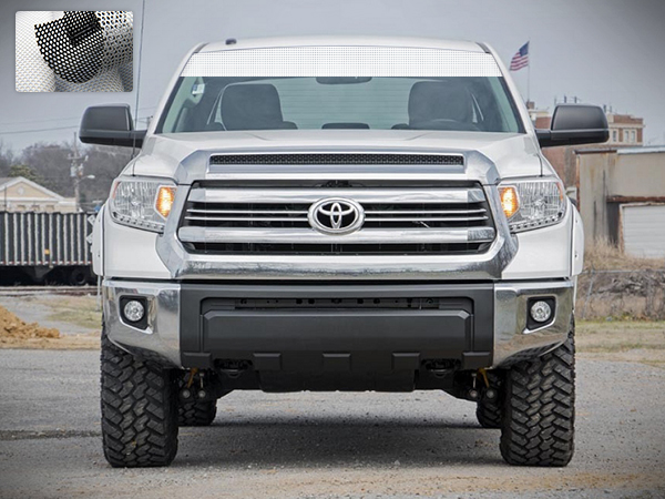 Windshield Banner Sun Visor Strip Vinyl Sticker Graphic Compatible with  Toyota Tundra 2007-2017 4d0d1182268