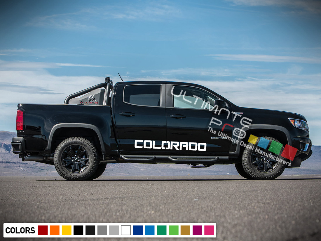 Decal Sticker Vinyl Kit Compatible With Chevrolet Colorado